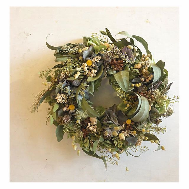 ドライフラワーギフト。.#flower #wreath #dryflower #terre #terreplant #flowershop #花屋